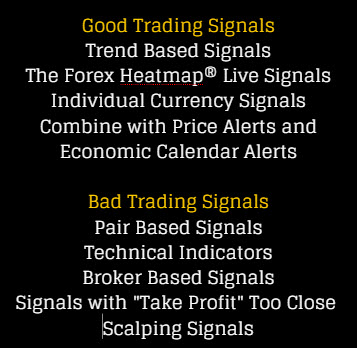 Forex Signals Providers - Infographic